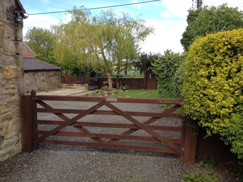 Secure back garden